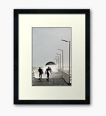 Crazy Framed Print