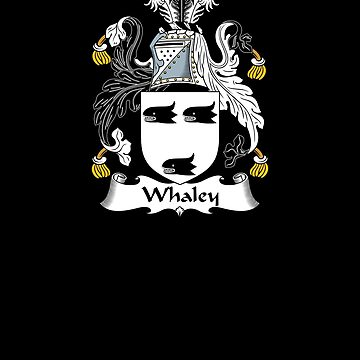 Whaley Coat of Arms - Family Crest Shirt by FamilyCrest
