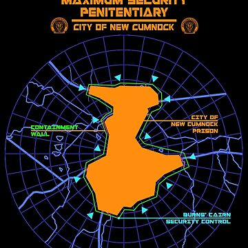 Escape From New Cumnock Penitentiary Map by OctoberFifteen