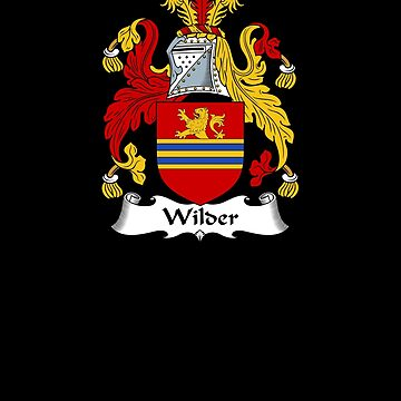 Wilder Coat of Arms - Family Crest Shirt by FamilyCrest