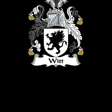 Witt Coat of Arms - Family Crest Shirt by FamilyCrest