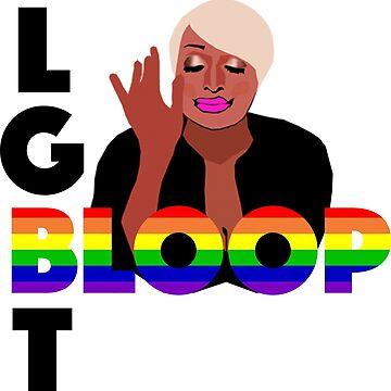 Nene Leakes LGBT Bloop Pride - RHOA by TheBoyHeroine
