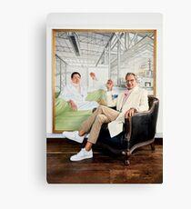 Jeff Goldblum Painting Canvas Print