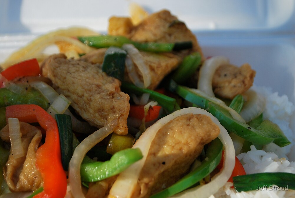 lemon grass tofu & veggies by Jeff stroud