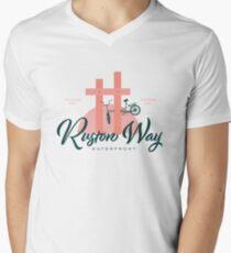 Ruston Way Tacoma V-Neck T-Shirt