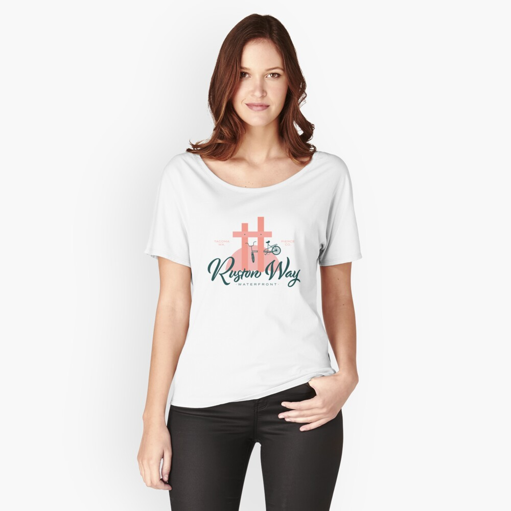 Ruston Way Tacoma Relaxed Fit T-Shirt