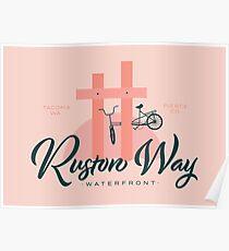 Ruston Way Tacoma Poster