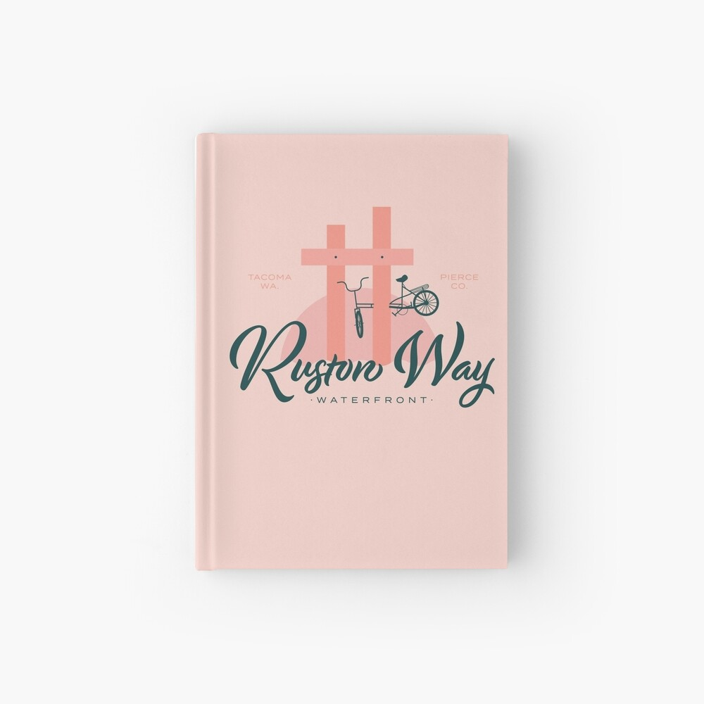 Ruston Way Tacoma Hardcover Journal