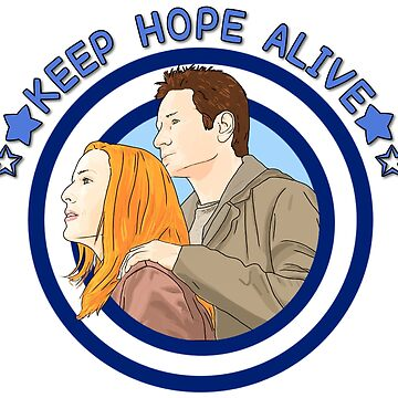 X files keep hope alive alive by Mimie ( more 70 designs XFiles in my shop) by MimieTrouvetou