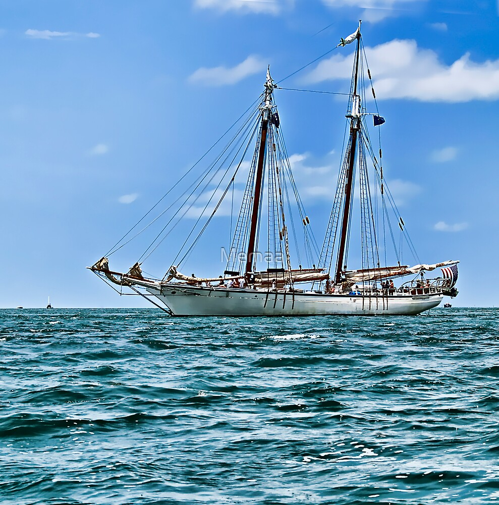Sailboat - Key West, Fla by Memaa