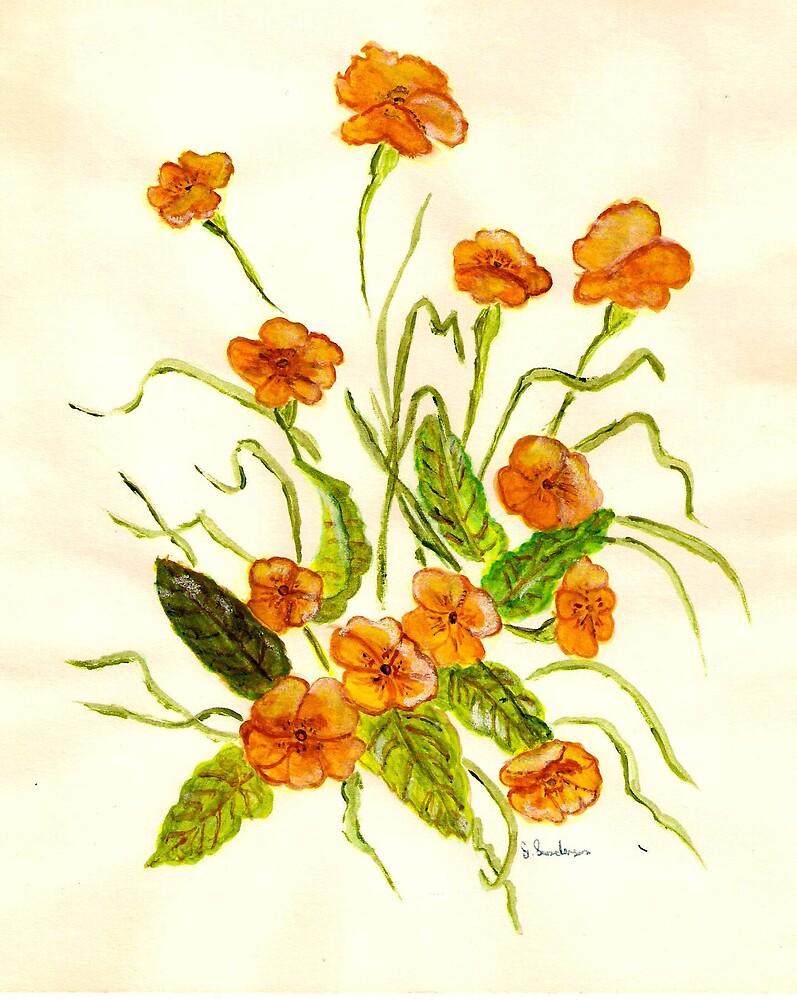 The primrose by GEORGE SANDERSON