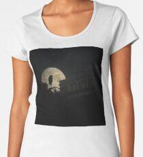Night Of The Heron Women's Premium T-Shirt