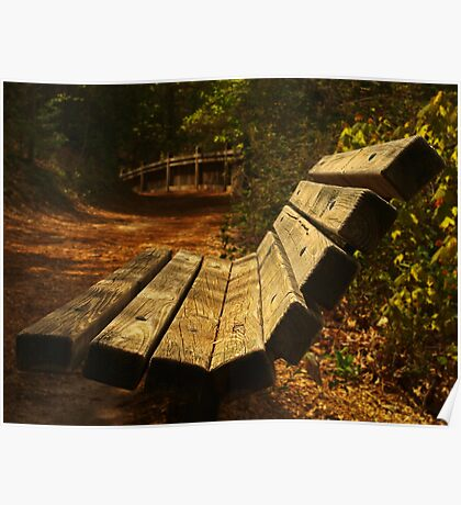 Trailhead Bench Poster