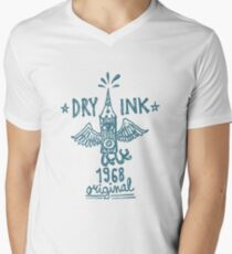 Dry Ink original Men's V-Neck T-Shirt