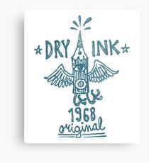 Dry Ink original Metal Print
