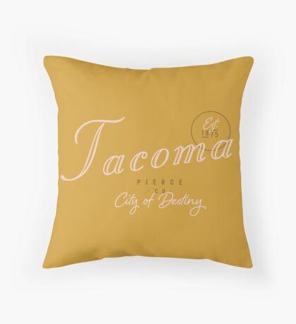 Tacoma, WA Throw Pillow