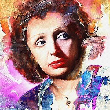 La Rose Piaf by Trudeau