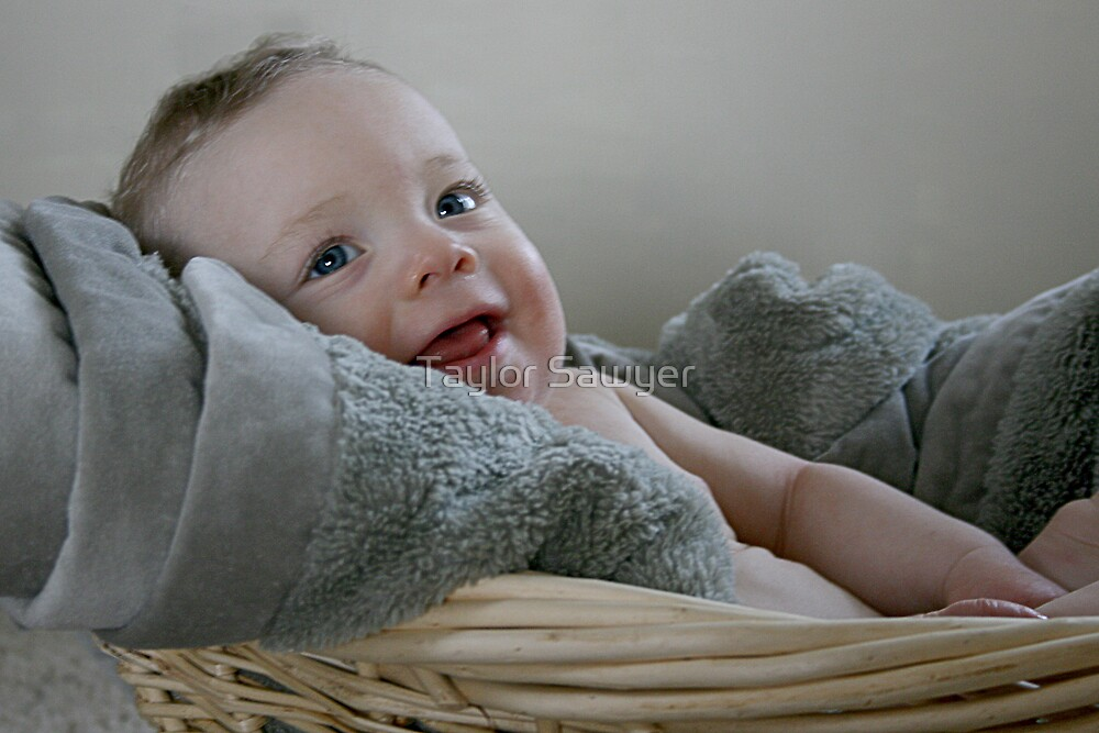 Baby in a Basket by Taylor Sawyer