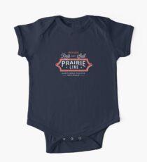 Ride the Prairie Line Short Sleeve Baby One-Piece