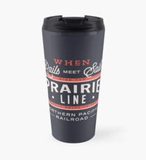 Ride the Prairie Line Travel Mug