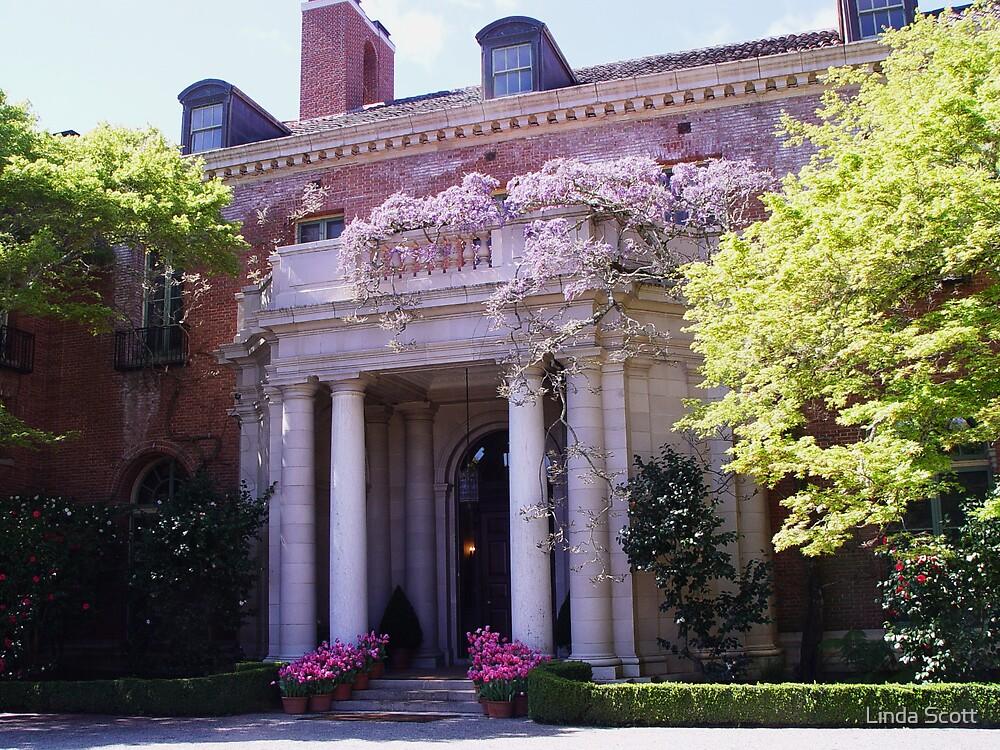 Filoli House Entrance by Linda Scott