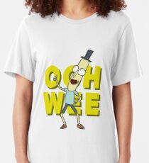 Mr. Poopybutthole Slim Fit T-Shirt