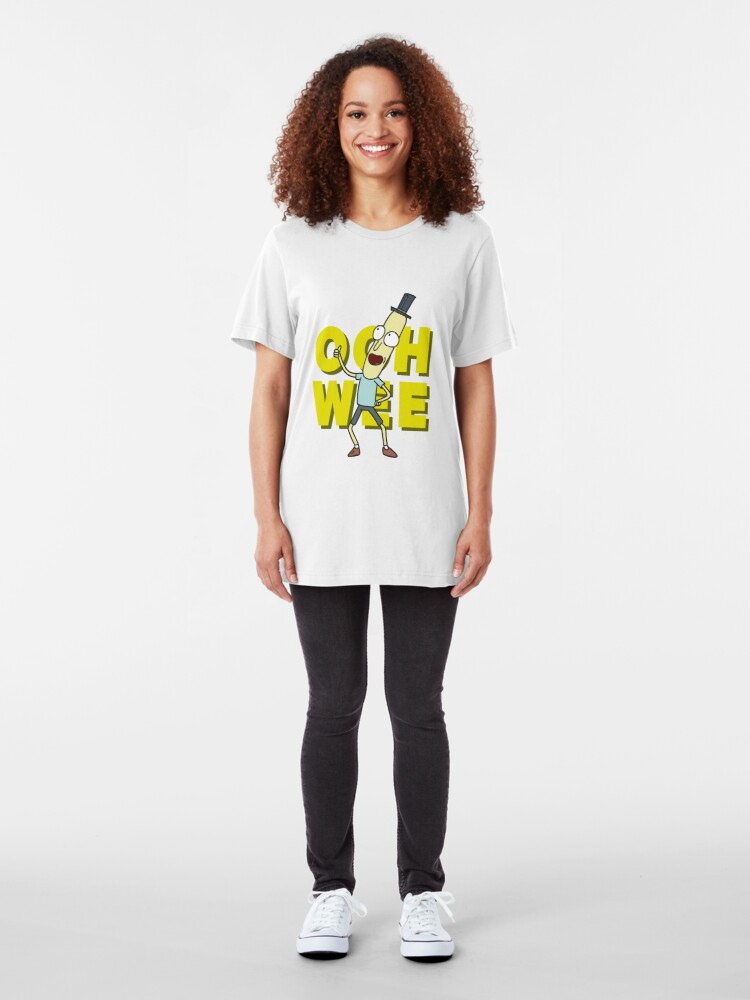 Alternate view of Mr. Poopybutthole Slim Fit T-Shirt