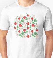 Fruity Apples and Pears Unisex T-Shirt