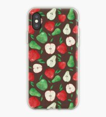 Fruity Apples and Pears iPhone Case
