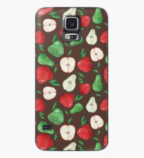 Fruity Apples and Pears Case/Skin for Samsung Galaxy