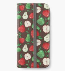 Fruity Apples and Pears iPhone Wallet/Case/Skin