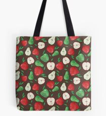Fruity Apples and Pears Tote Bag