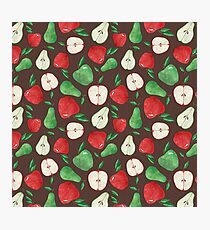Fruity Apples and Pears Photographic Print