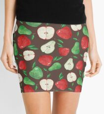 Fruity Apples and Pears Mini Skirt