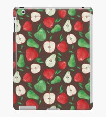 Fruity Apples and Pears iPad Case/Skin
