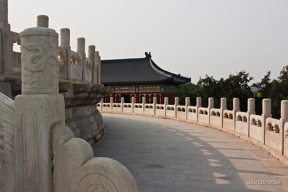 Temple of Heaven, Bejing, China by Tomas Abreu