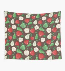 Fruity Apples and Pears Wall Tapestry