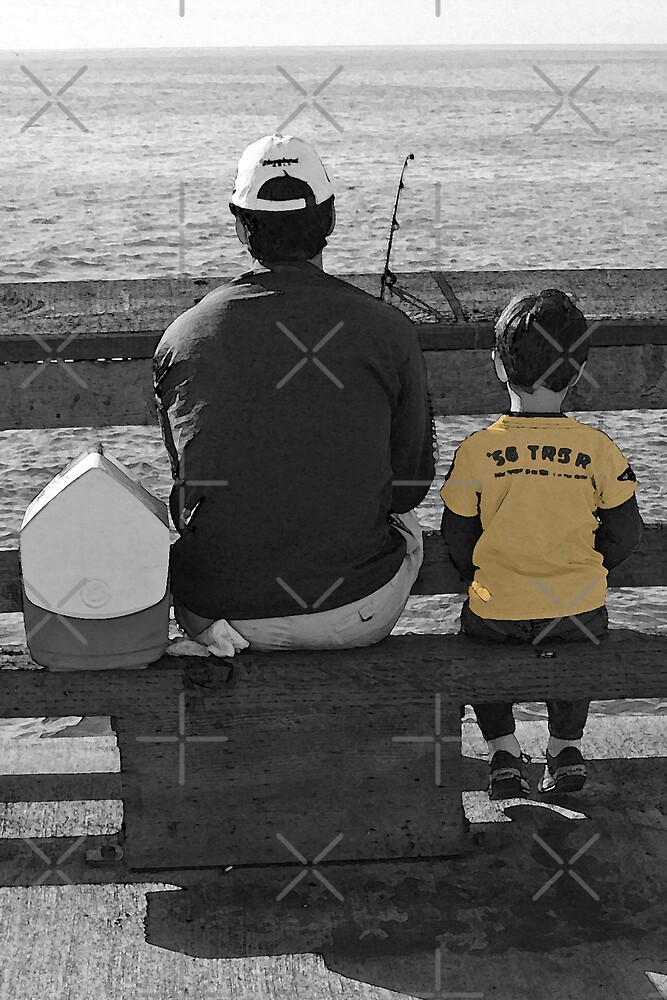 A Day Fishing With Dad by CarolM