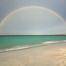 Bay Of Fires Rainbow by Michael Walters