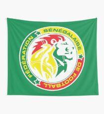 Der senegalesische Fußballverband Wandbehang