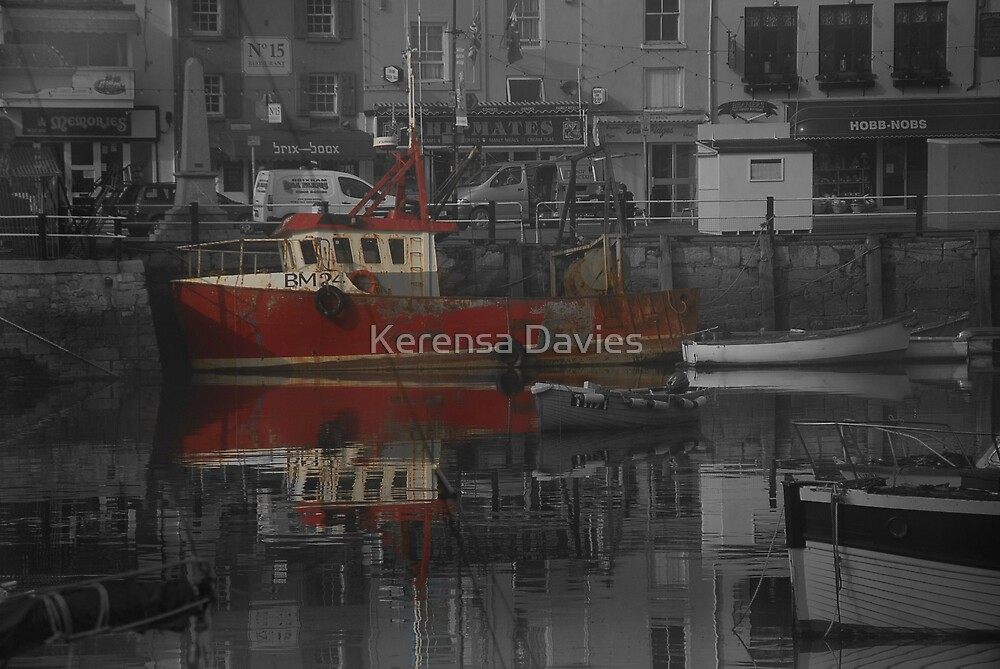 Red Boat by Kerensa Davies