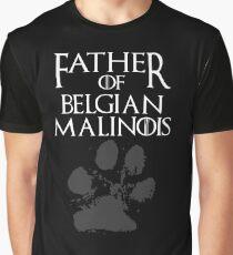 Father of Belgian Malinois shirt, #Belgian Malinois  Graphic T-Shirt