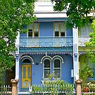 The Blue Terrace House. Old Sydney Style.  by johnrf
