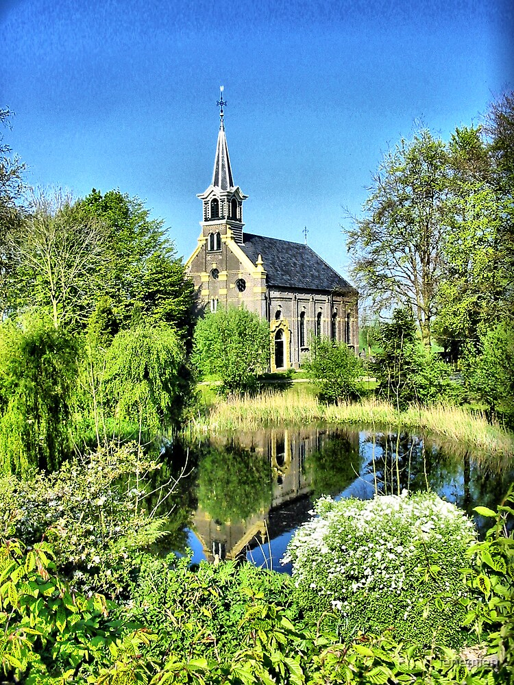 Church reflection by ienemien