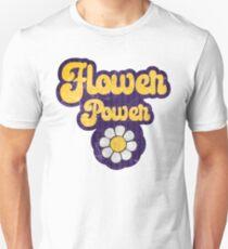 Retro Hippie - Flower Power - Rock'n'Roll Protest Design Unisex T-Shirt