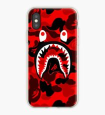 Fashion Bape Shark Mouth Phone Case For iPhone 7 7 Puls 6