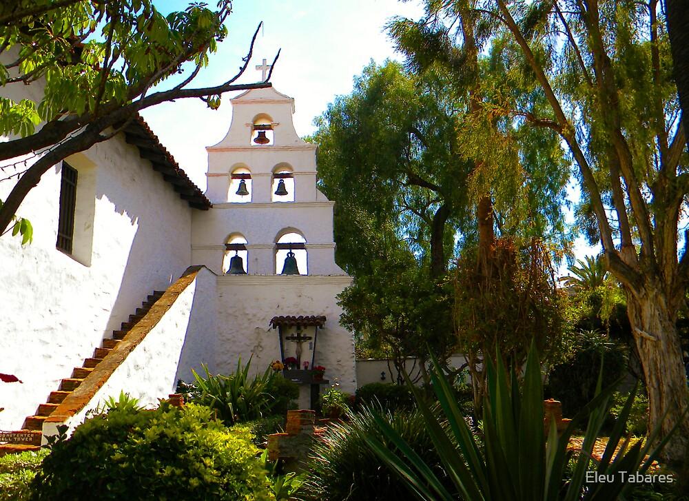 Mission Basilica San Diego de Alcala by Eleu Tabares