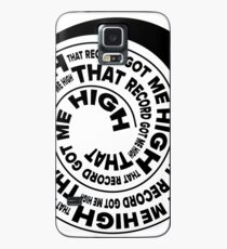 That Record Got Me High Podcast Reverse Logo Case/Skin for Samsung Galaxy