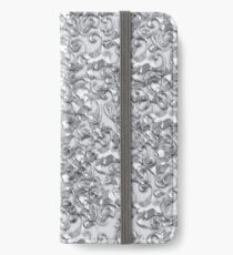 Silvery iPhone Wallet/Case/Skin