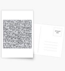 Silvery Postcards